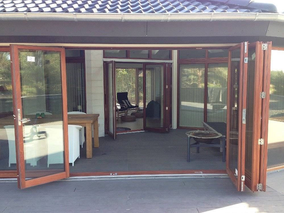 Foldedøre som terrassedør