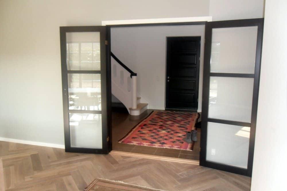 Indvendige døre som dobbelt fransk dør