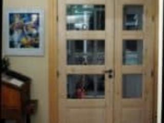 Specialdesgnede indvendige døre med glas og fyldninger