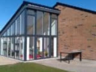 Flot nye hus med træ/alu vinduer