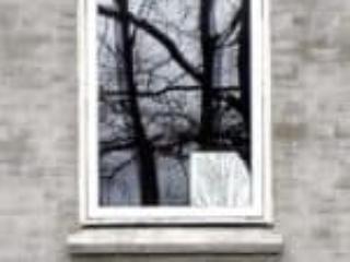 PVC topstyret vindue med klart energiglas