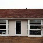 Flot udført karnap vinduer og terrassedør
