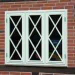 Flot special vindue i bindingsværkshus
