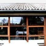 Nyt mahogni vinduesparti giver masser af udsyn