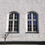 Smukke vinduer med bue og højisolerende glas
