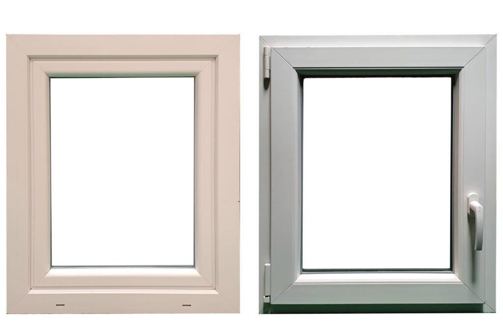Billigt dreje kip vindue i PVC